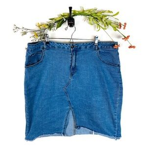 5 for $30 Highway Jeans Skirt Women's Plus Size 2X